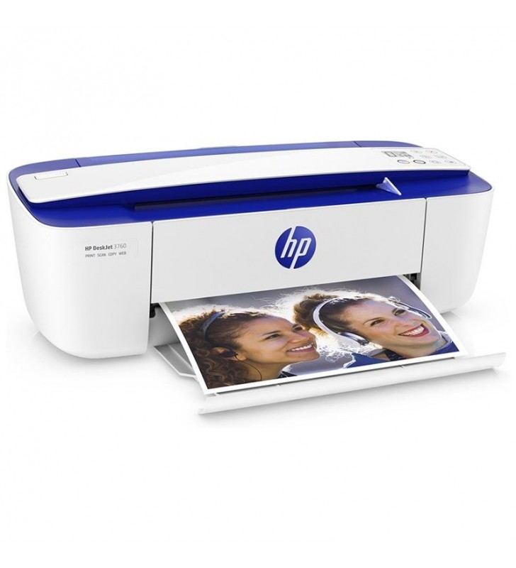 MULTIFUNCION HP WIFI DESKJET 3760 - 19/15PPM - ESCÁNER 600PPP - COPIA 300PPP - PANTALLA LCD - CART. 304 NEGRO/TRICOLOR
