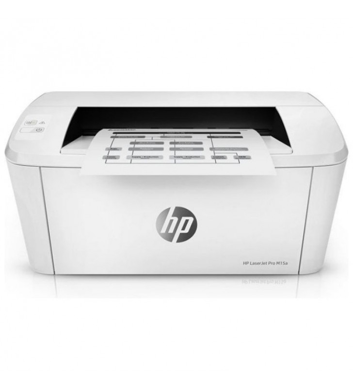 IMPRESORA HP LÁSER PRO M15A - 18PPM - 600X600 - USB 2.0 - BANDEJA ENTRADA 150 HOJAS - TONER CF244A