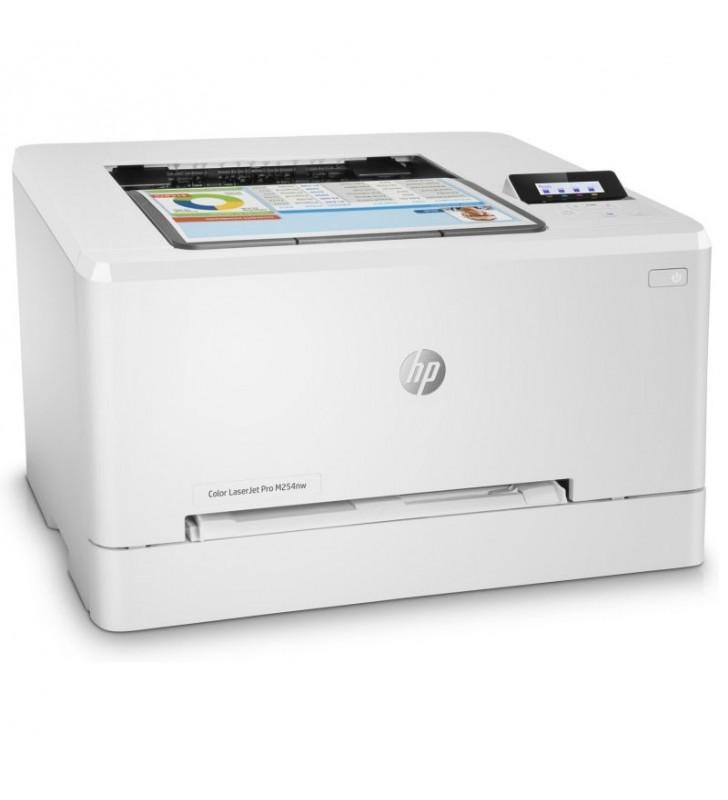 IMPRESORA HP WIFI LASERJET COLOR PRO M254NW - HASTA 37PPM - 600PPP - USB 2.0 - LAN 10/100 - EPRINT - TONER 202A/X-203A/X