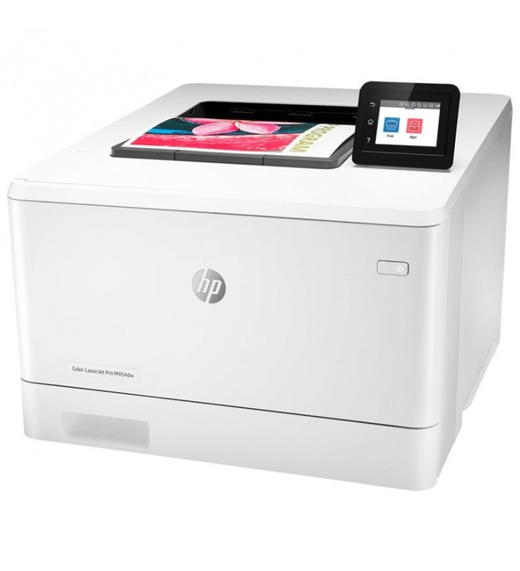 IMPRESORA HP WIFI LÁSERJET PRO COLOR M454DW - 27/27PPM - DUPLEX - AIRPRINT / EPRINT / CLOUD PRINT - USB 2.0 - USB HOST - LAN - T