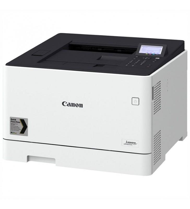 IMPRESORA CANON LÁSER COLOR WIFI I-SENSYS LBP663CDW - 27PPM - DUPLEX - BANDEJA 250 HOJAS - USB - LAN GIGABIT - TONER 055/H BK/C/