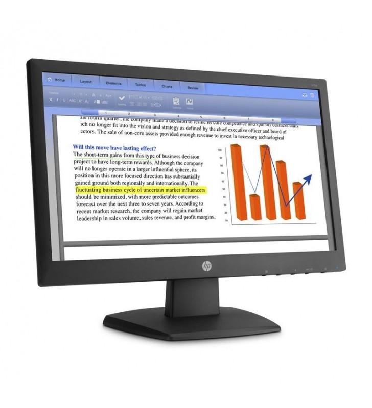 MONITOR HP V194 - 18.5'/46.9CM LED - 1366*768 - 16:9 - 200CD/M2 - 5MS - CONTRASTE DINÁMICO 5000000:1 - VGA