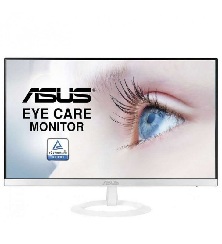 MONITOR LED ASUS VZ249HE-W - 23.8'/60.5CM IPS - 1920*1080 - 250CD/M2 - 5 MS - SIN PARPADEOS - HDMI - VGA - BLANCO