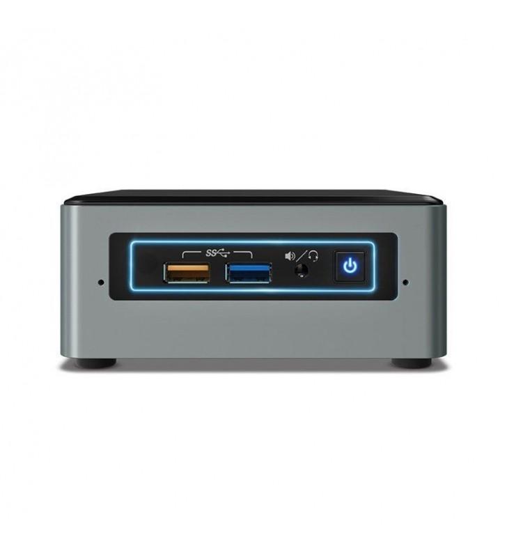 MINI PC INTEL NUC6CAYH - INTEL J3455 1.5GHZ - NO RAM - NO HDD - 4XUSB3.0 - HDMI/VGA - LAN - WIFI - BT4.0 - NO S.O. - PLATA/NEGRO