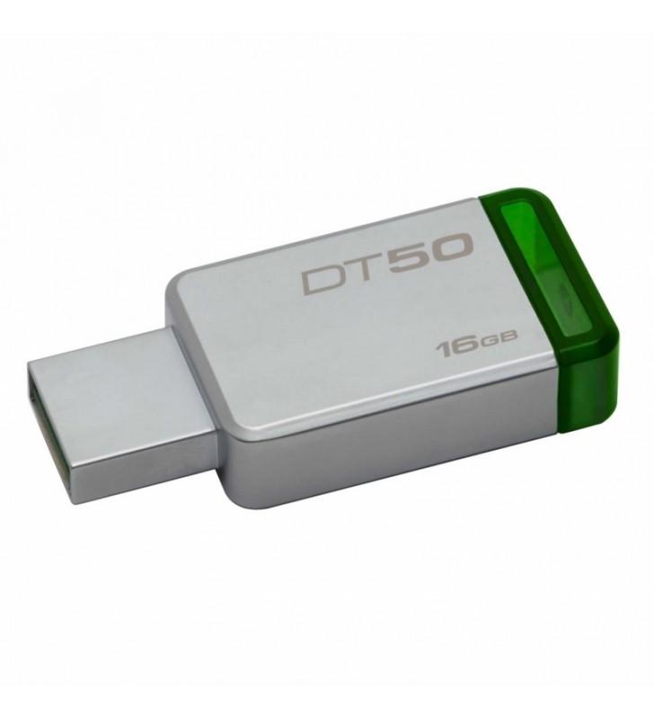 PENDRIVE KINGSTON DATATRAVELER DT50 16GB - USB 3.1 - 30MB/S LECTURA - 5MB/S ESCRITURA