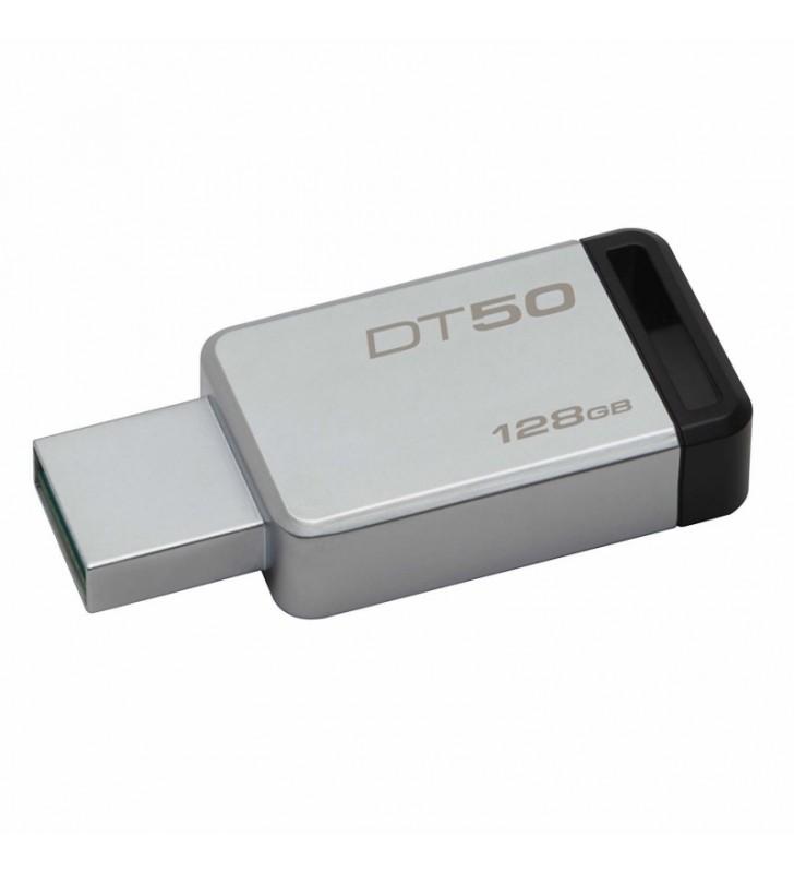 PENDRIVE KINGSTON DATATRAVELER DT50 128GB - USB 3.1 - 110MB/S LECTURA - 15MB/S ESCRITURA