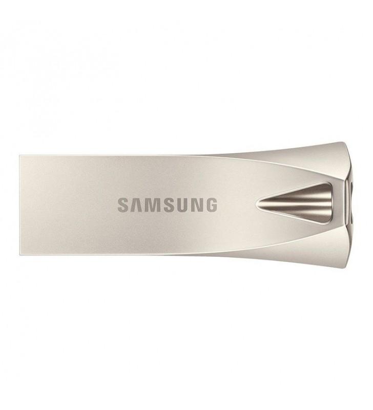 PENDRIVE SAMSUNG BAR PLUS SILVER 128GB - USB 3.1 - 300MB/S LECTURA