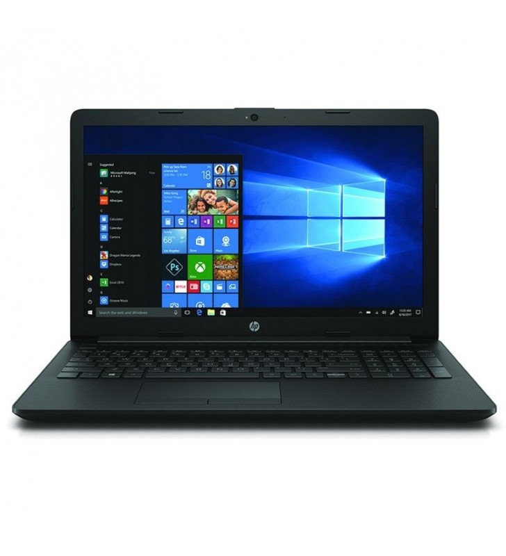 PORTÁTIL HP 15-DA0203NS - I3-7020U 2.3GHZ - 8GB - 256GB SSD PCIe NVMe - 15.6'/39.6CM HD - HDMI - BT - NO ODD - W10 - NEGRO AZABA