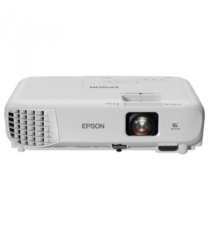 PROYECTOR PORTÁTIL 3LCD EPSON EB-W05 - 3300 LUMENES - 15000:1 - 1280X800 WXGA - ZOOM MANUAL 1.2X - VGA/HDMI/COMPUESTO/USB - ALT.