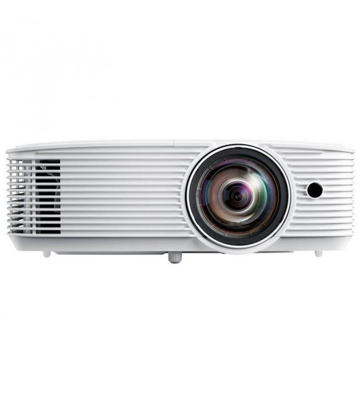PROYECTOR COMPACTO DLP OPTOMA W308STE - TIRO CORTO - FULL 3D - 3600 ANSI LUMENES - 22000:1 - 1280*800 WXGA - HDMI/VGA - LÁMPARA