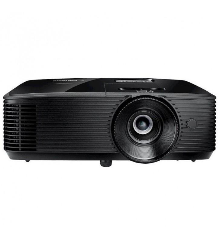 PROYECTOR BRILLANTE DLP OPTOMA W334E - 3D READY - 3700 ANSI LUMENES - 22000:1 - 1280*800 WXGA - HDMI/VGA - ALTAVOZ 10W - LÁMPARA