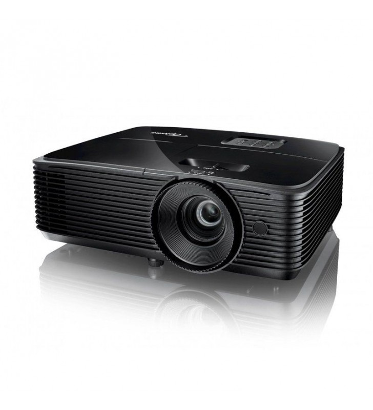 PROYECTOR BRILLANTE DLP OPTOMA S334E - 3D READY - 3800 ANSI LUMENES - 22000:1 - 800*600 SVGA - HDMI/VGA - ALTAVOZ 10W - LÁMPARA