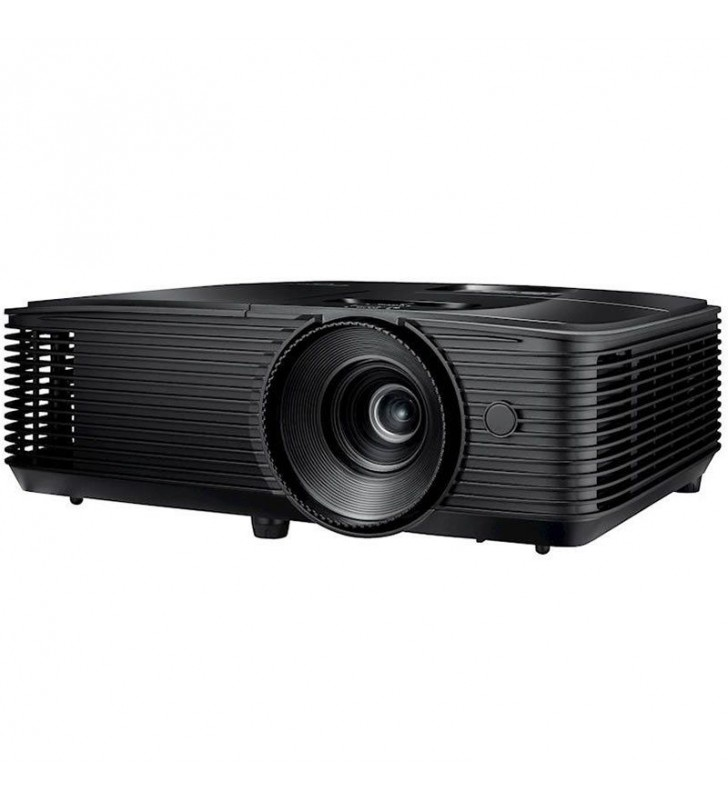 PROYECTOR BRILLANTE DLP OPTOMA S343E - 3D READY - 3800 ANSI LUMENES - 22000:1 - 800*600 SVGA - HDMI/VGA/VIDEO COMPUESTO - LÁMPAR