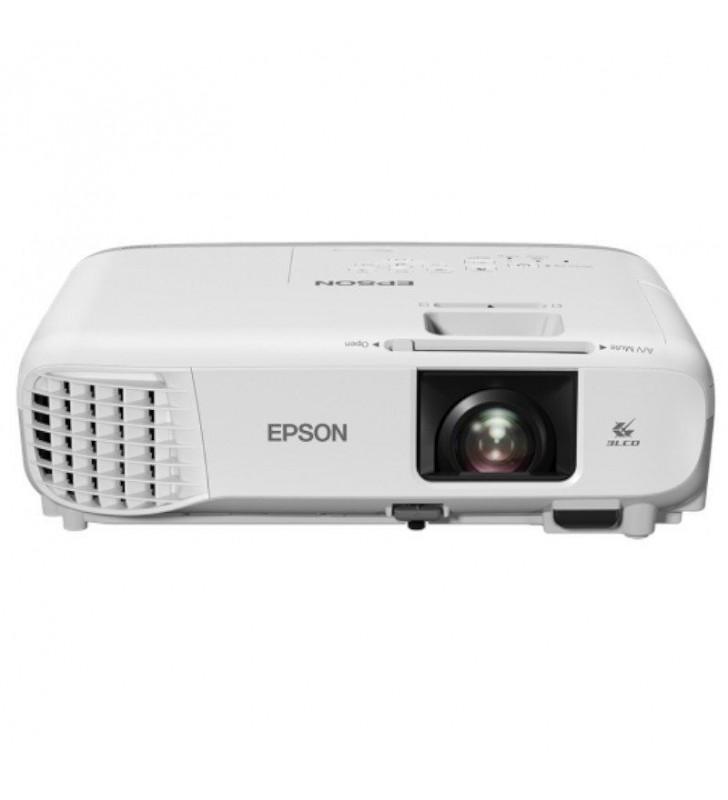PROYECTOR PORTÁTIL 3LCD EPSON EB-X39 - 3500 LUMENES - 15000:1 - 1024X768 XGA - ZOOM MANUAL 1.2X - LAN/VGA/HDMI/COMPUESTO/RGB/USB