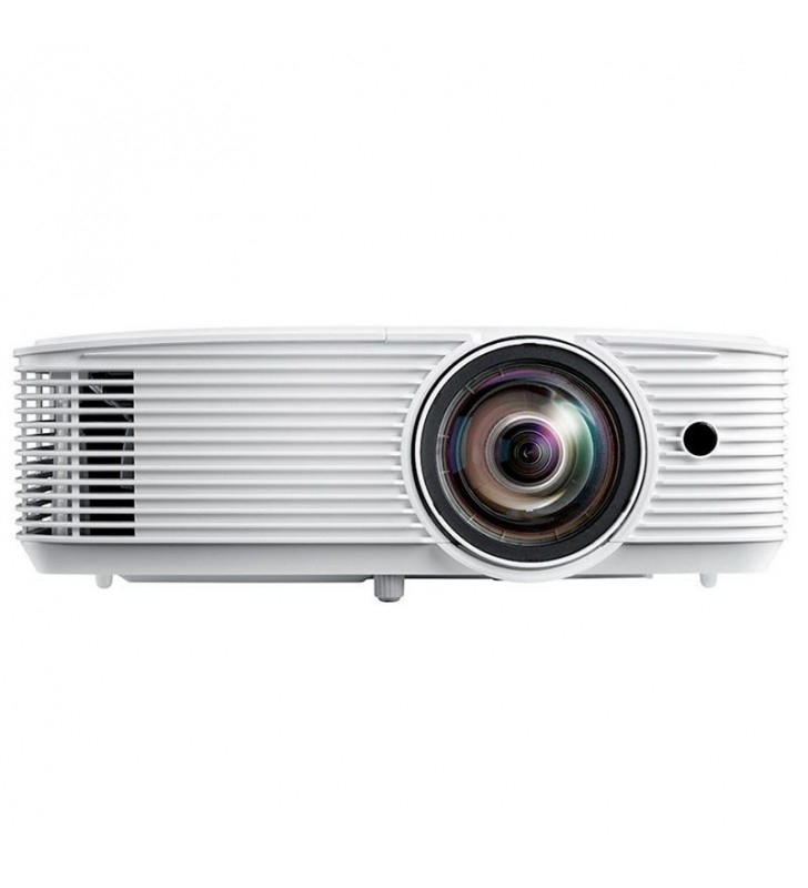 PROYECTOR COMPACTO DLP OPTOMA X308STE - TIRO CORTO - FULL 3D - 3500 ANSI LUMENES - 22000:1 - 1024*768 XGA - HDMI/VGA - LÁMPARA 2