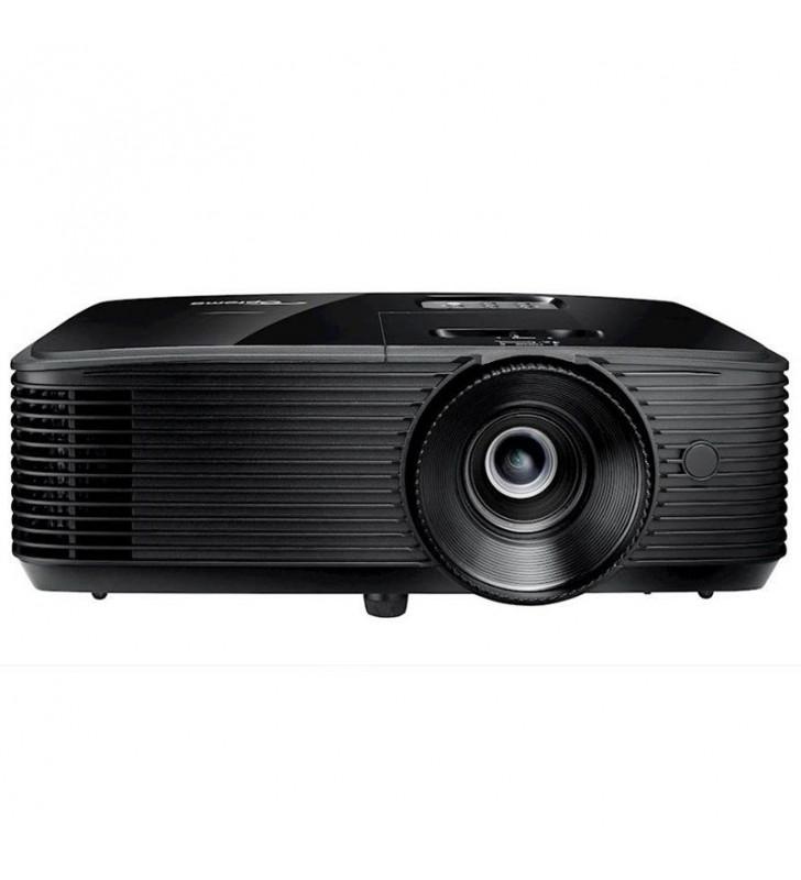 PROYECTOR DLP OPTOMA H184X - 3D READY - 3600 ANSI LUMENES - 28000:1 - 1280*800 WXGA - HDMI - VGA - VÍDEO COMPUESTO - JACK 3.5MM