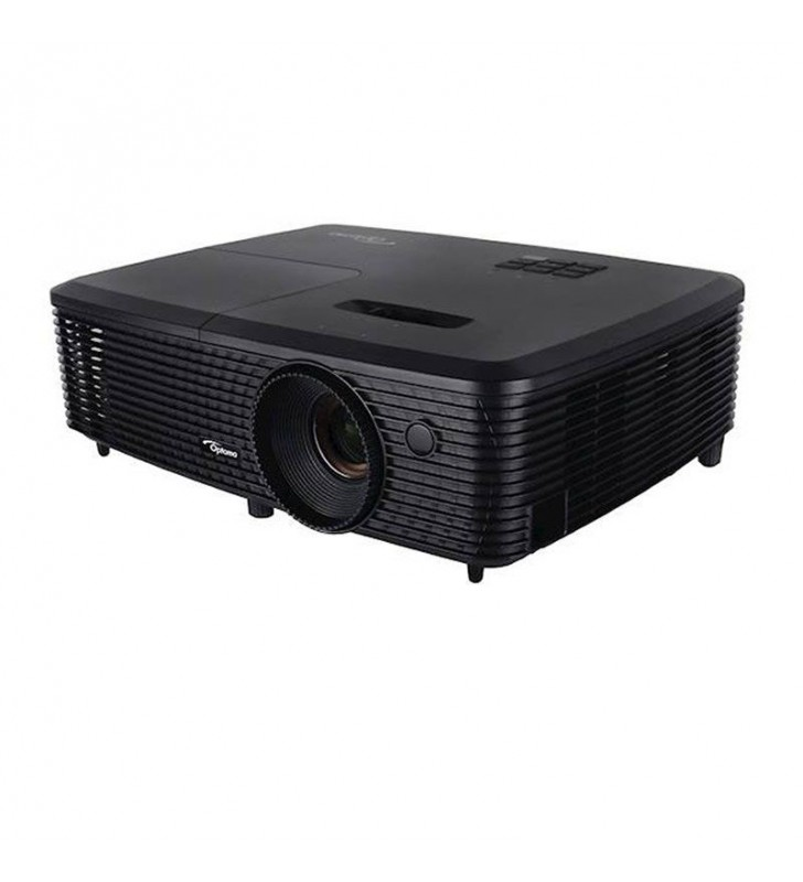 PROYECTOR PORTÁTIL DLP OPTOMA W340+ - 3700 LUMENES - 22000:1 - 1280*800 WXGA - FULL 3D - HDMI - VGA - VÍDEO COMPUESTO - JACK 3.5