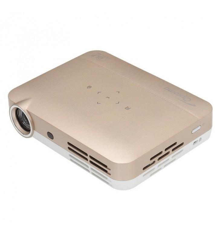 PROYECTOR LED ULTRALIGERO DLP OPTOMA ML330 - SOPORTE FULL 3D - BRILLO 500 LED - 20000:1 - 1280X800 WXGA - HDMI - RJ45 - 2XUSB-A