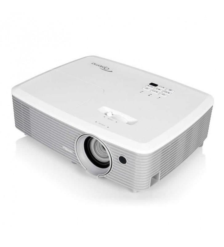 PROYECTOR PORTÁTIL DLP OPTOMA X345 - XGA (1024X768) - 3200 ANSI LUMENES - 1.3X ZOOM - FULL 3D - HDMI / VGA/ USB POWER - ALTAVOZ
