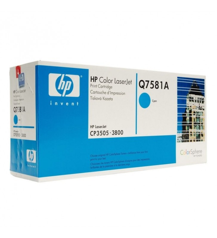 TONER HP COLOR CIAN PARA LASERJET COLOR 3800 6000 PÁGINAS