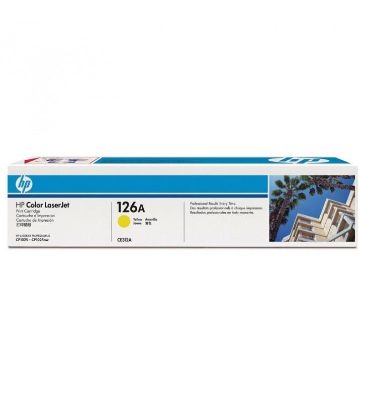 TONER AMARILLO HP Nº126A 1000PAG /CP1025NW -CE312A