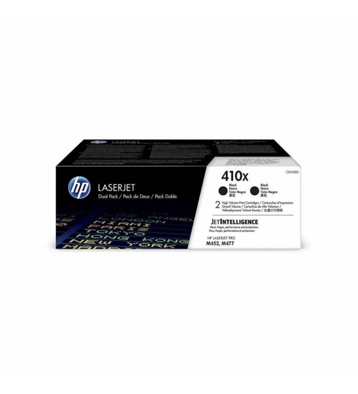 PACK 2 TONERS NEGROS HP Nº410X - 6500 PAG. C/U - COMPATIBLE SEGÚN ESPECIFICACIONES