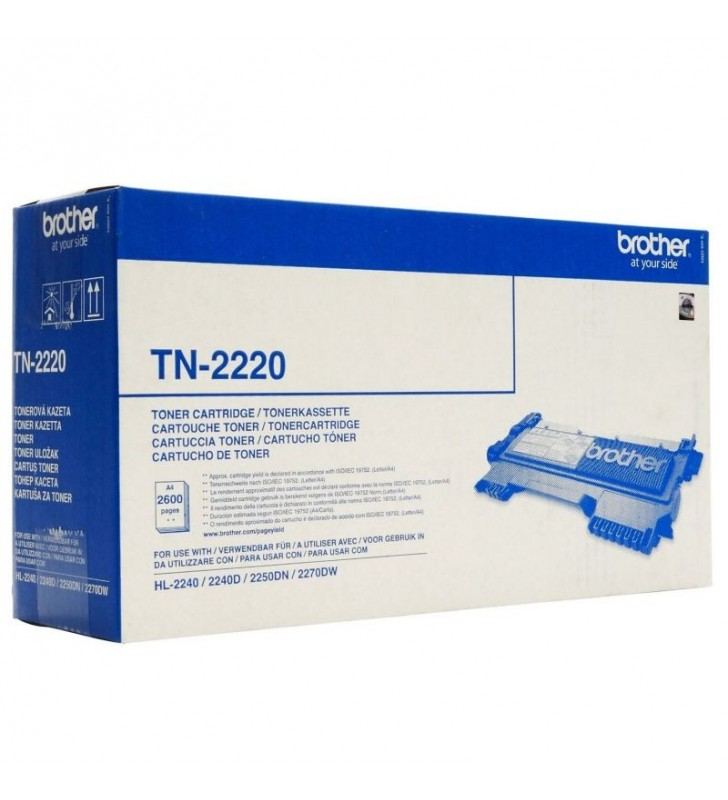 TONER BROTHER TN-2220 2600 PÁGINAS NEGRO