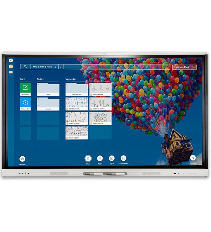 "PANTALLA INTERACTIVA SMART Board MX265-V2 65"" ANDROID 8"