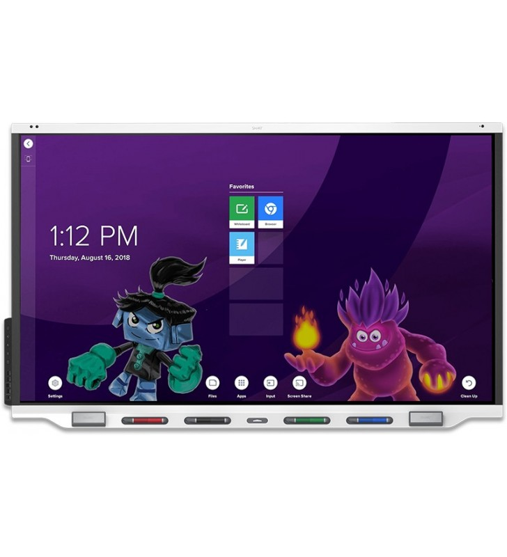 "PANTALLA INTERACTIVA SMART Board 7286R 86"" 4K ANDROID 8"