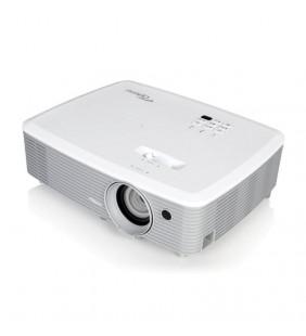PROYECTOR PORTÁTIL DLP OPTOMA W400 - SOPORTE FULL 3D - 4000 ANSI LUMENES - 22000:1 - 1280*800 WXGA - 2*HDMI - VGA - ALTAVOZ 2W -