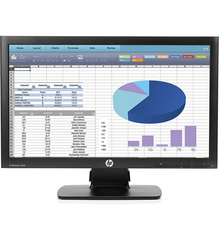 "TFT HP 20"" PRODISPLAY P202 1600X900 5MS OCASION"