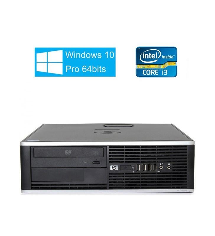 HP 6200 PRO CORE I3-2100 4GB 128GB SSD + 250GB DVD WIN10 PROF. 64BITS EDUCACION SFF OCASION