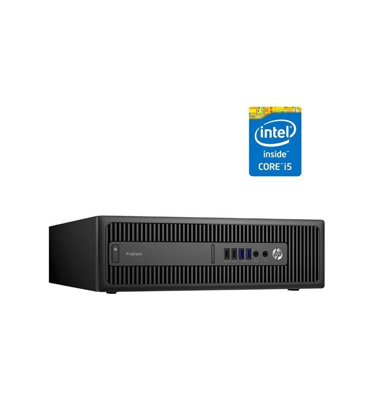 HP PRODESK 600 G1 I5-4570 8GB SSD 256GB SIN DVD SFF OCASION