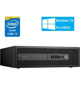 HP PRODESK 600 G2 I5-6500 8GB SSD 240GB NO ODD SFF WIN10 PRO EDUCACION OCASION