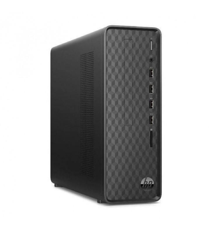 PC HP SLIM DESKTOP S01-PF1008NS - I3-10100 3.6GHZ - 8GB - 512GB SSD PCIE NVME - WIFI - BT - VGA/HDMI - NO ODD - FREEDOS - NEGRO