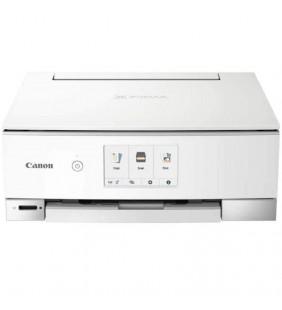 MULTIFUNCION CANON WIFI PIXMA TS8351 BLANCA - 15/10PPM - DUPLEX - IMPRESIÓN SIN BORDES - SCAN 2400*4800PPP - USB - CARTUCHOS PGI