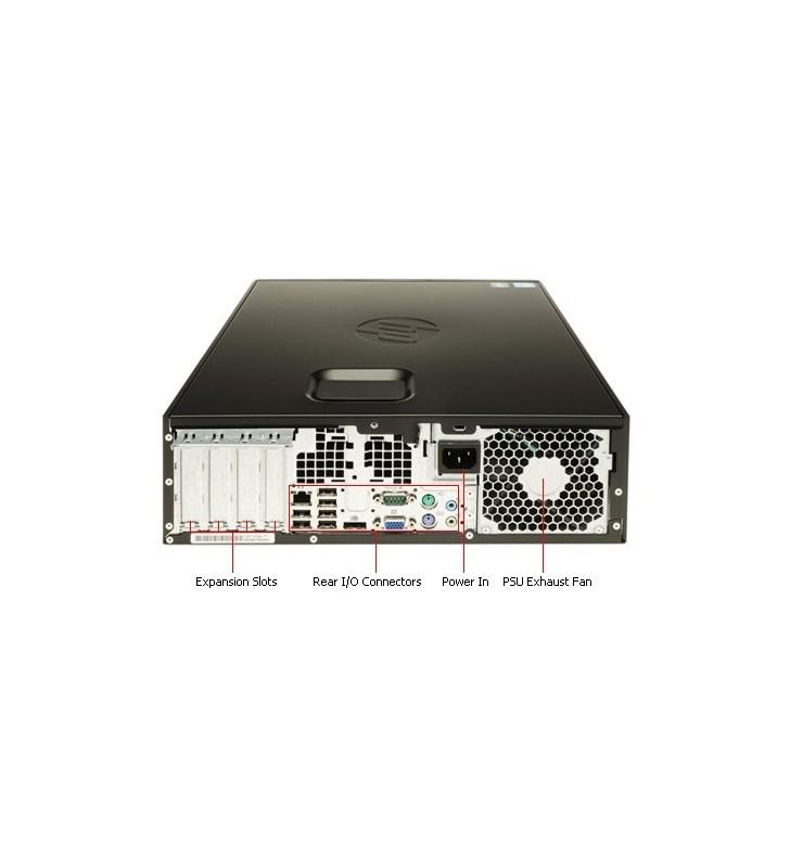 HP 8200 ELITE CORE I5-2400 4GB 500GB DVD  WIN10 PRO SFF OCASION
