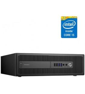 HP HP ELITEDESK 800 G1 I5-4570 8GB SSD 256GB SIN DVD SFF WIN10 PRO EDUCACION OCASION
