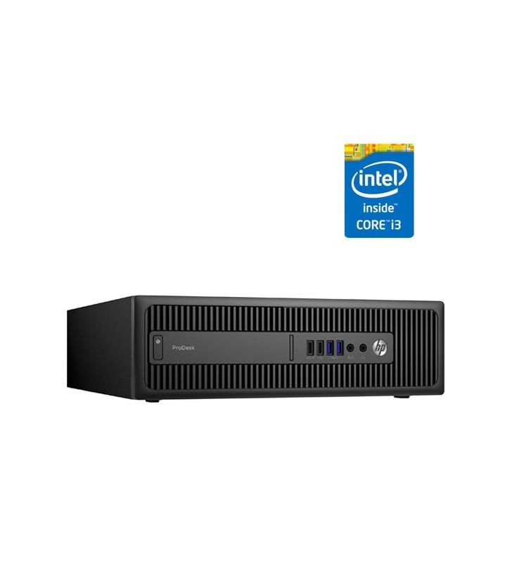 HP HP PRODESK 600 G2 INTEL CORE I3-6100 8GB SSD 256GB SIN DVD SFF OCASION