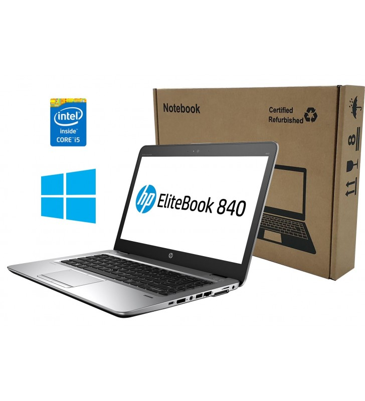 "HP PORTATIL HP ELITEBOOK 840 G3 I5-6300u 8GB SSD 256GB 14"" FULL HD WIN10 PRO OCASION"