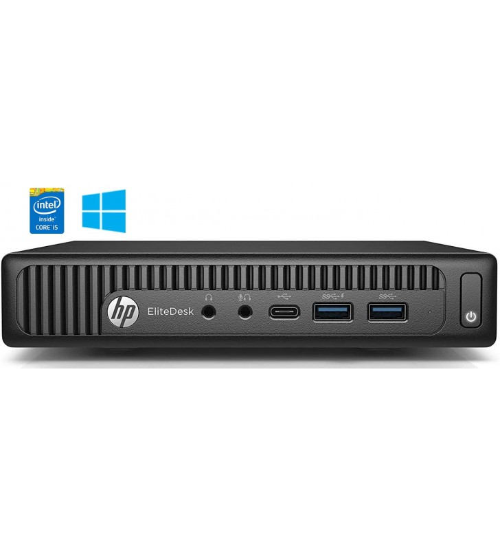 HP HP ELITEDESK 800 G2 INTEL CORE I5-6600T 8GB SSD 256GB Mini Business PC WIN 10 OCASION
