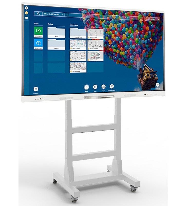 "BUNDLE SMART Board MX265-V2 + SOPORTE MIF FLEX MOVIL  - 75"" BLANCO Front"