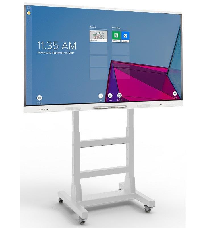 "BUNDLE SMART Board MX275-V2 + SOPORTE MIF FLEX MOVIL  - 75"" BLANCO Front"