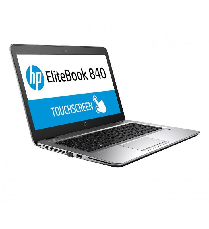 "PORTATIL HP ELITEBOOK 840 G3 I5-6300U 8GB SSD 256GB 14"" Full HD TOUCHSCREEN OCASION Front Right"