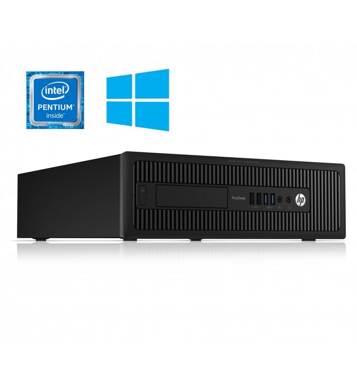 HP HP PRODESK 600 G2 INTEL PENTIUM G4400 8GB 1TB HDD SIN DVD SFF WIN10 PRO EDUCACION OCASIÓN