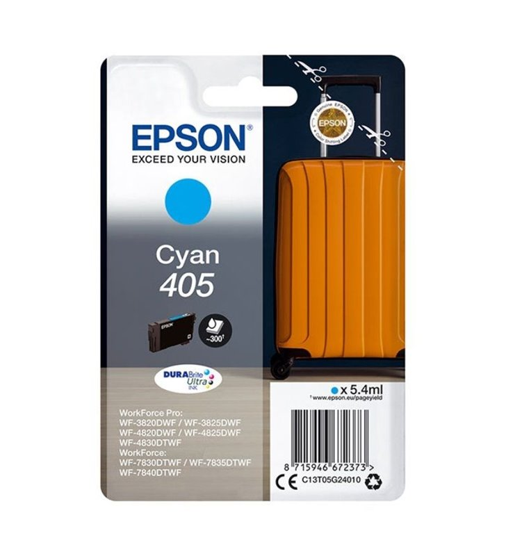 Cartucho de Tinta Original Epson nº405/ Cian