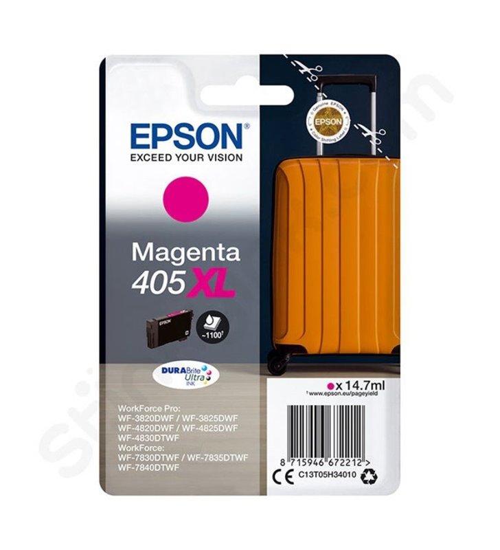 Cartucho de Tinta Original Epson nº405 XL Alta Capacidad/ Magenta