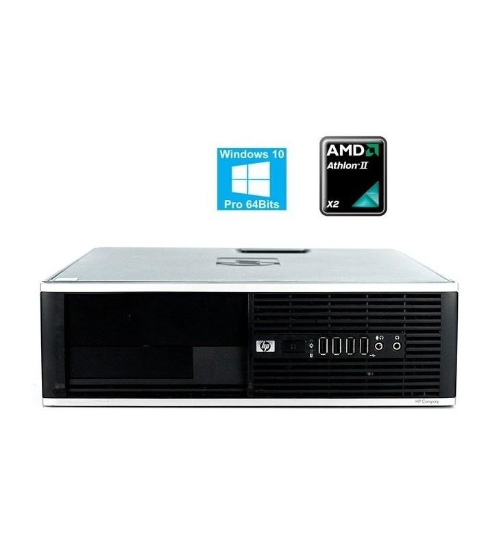 HP PRO 6005 AMD ATHLON II X2 B24 4GB 250GB SIN DVD SFF WIN 10 PROF. EDUCACION OCASION