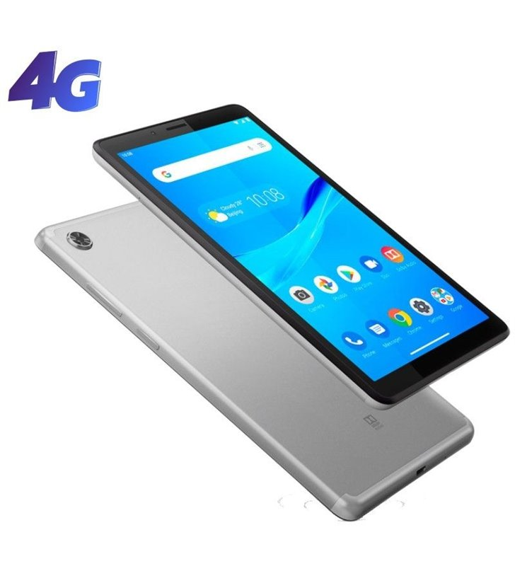 Tablet Lenovo Tab M7 TB-7305X (2nd Gen) 7'/ 1GB/ 16GB/ 4G/ Gris Platino