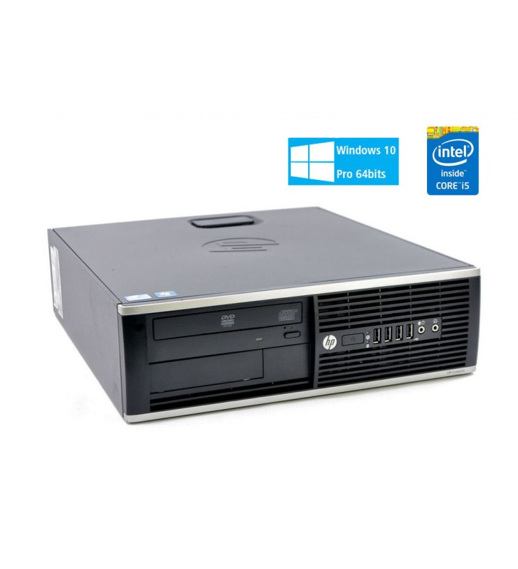 HP HP 8200 ELITE CORE I5-2400 8GB 500GB DVD WIN10 PROF. 64BIT EDUCACION SFF OCASION